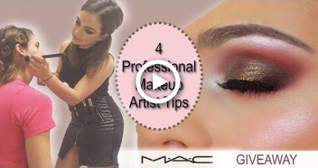 4 Tipps für professionelle Maskenbildner (MAC International GIVEAWAY * geschlossen *) – Makeup.Nails.Cutee.