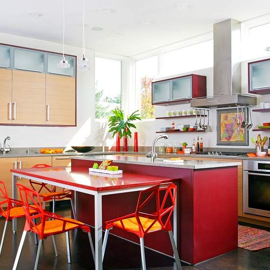 69 best Colored kitchen islands images on Pinterest | Kitchens ...