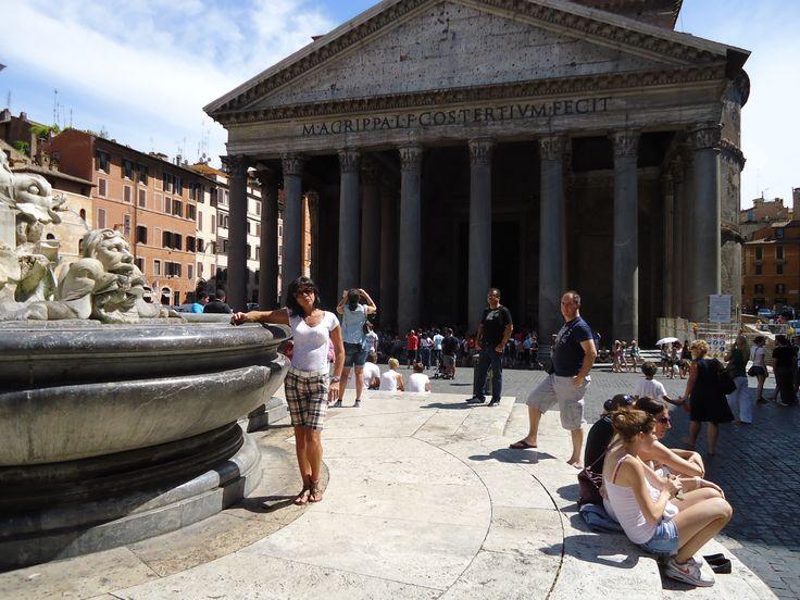 Pantheon à Roma, Lazio