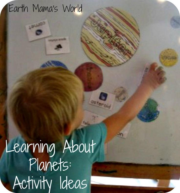 Learning About Planets:  Fun and Free Activities