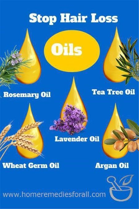 Picture of Home Remedies for Hair Loss Oils #hairlosshomeremedies