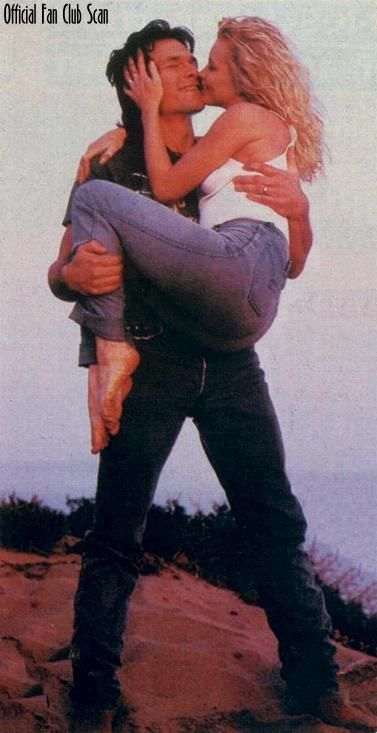Patrick Swayze and his wife Lisa. 34 years together.
