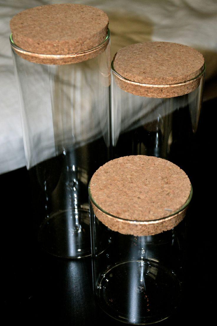 Opbevaringsglas fra Søstrene Grene