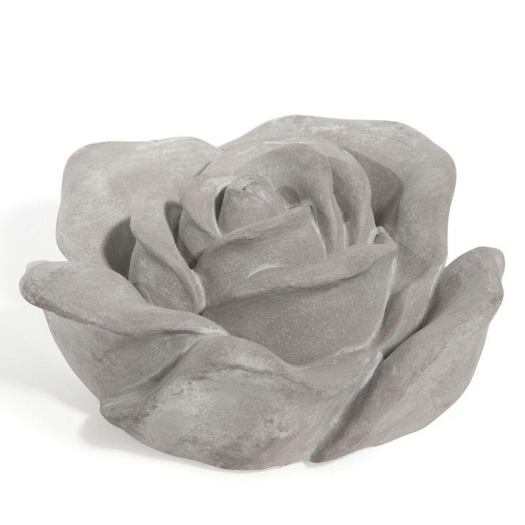 Statuette rose Romance