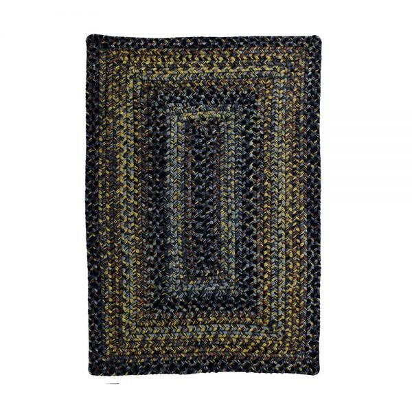 Ultra Durable Braided Rugs Rectangle Black Forest 2 X3 Direct Smart Deals Black And Grey Rugs Braided Rugs Hooked Rugs Primitive