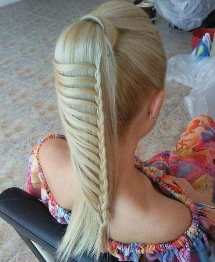 Share if you like~: Hair Ideas, Pony Tail, Hairstyles, Make Up, Hair Styles, Makeup, Braids, Beauty