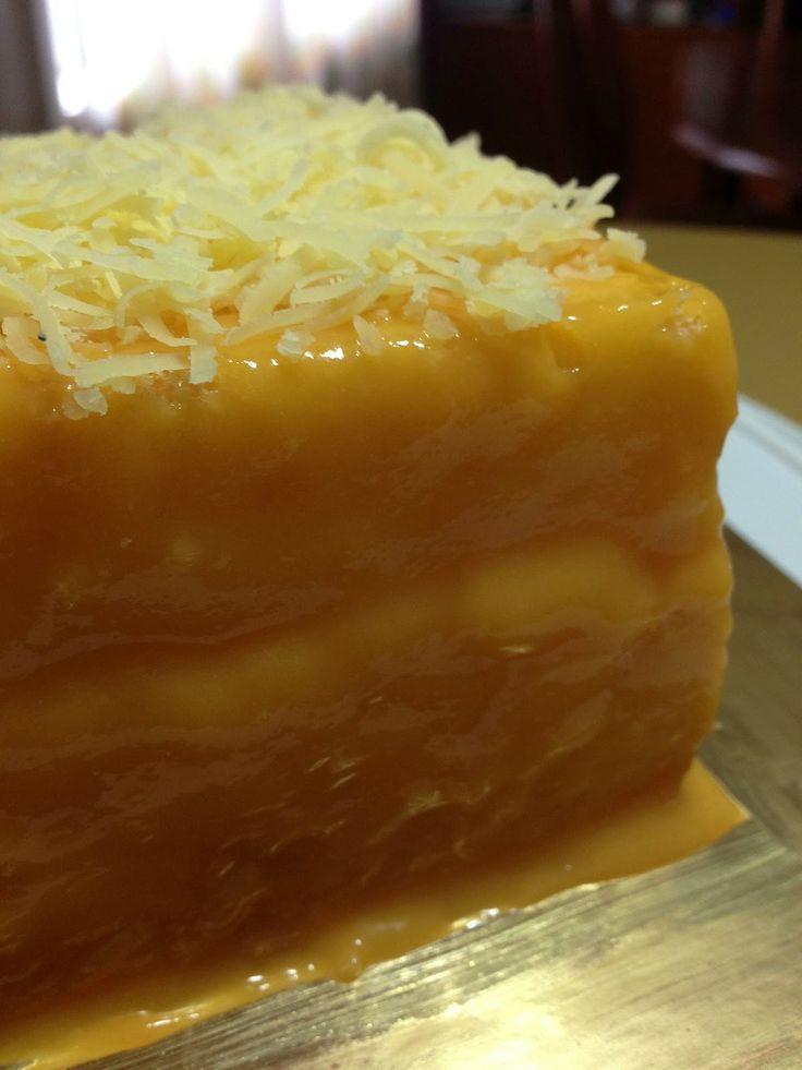 Yema Ube Cake