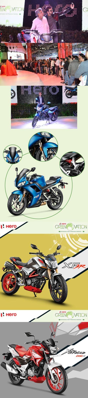 Hero MotoCorp from Hero pavilion
