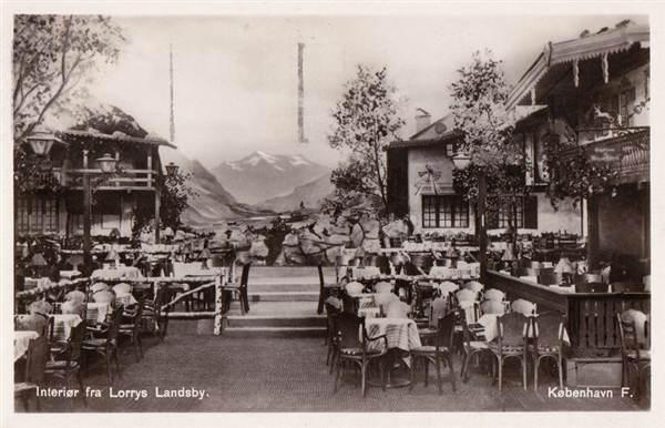 Interiør fra Lorry Landsby