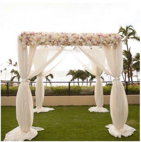 Square Wedding Arch Decoration Ideas: 17 Best Images About Lavish Ceremony Decorations! On
