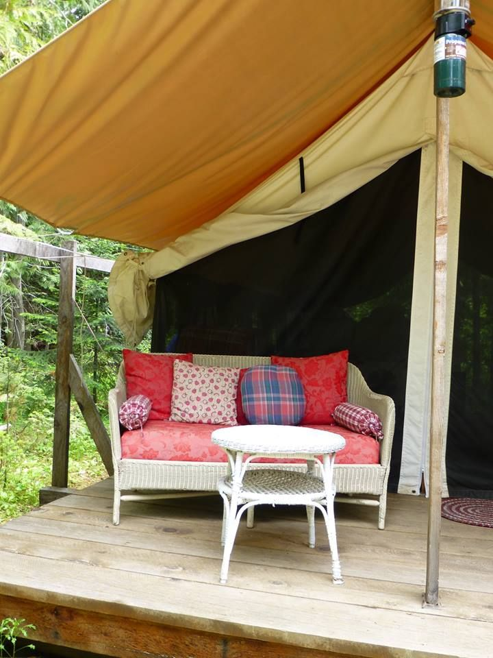 25 best ideas about canvas wall tent on pinterest wall for Canvas platform tents