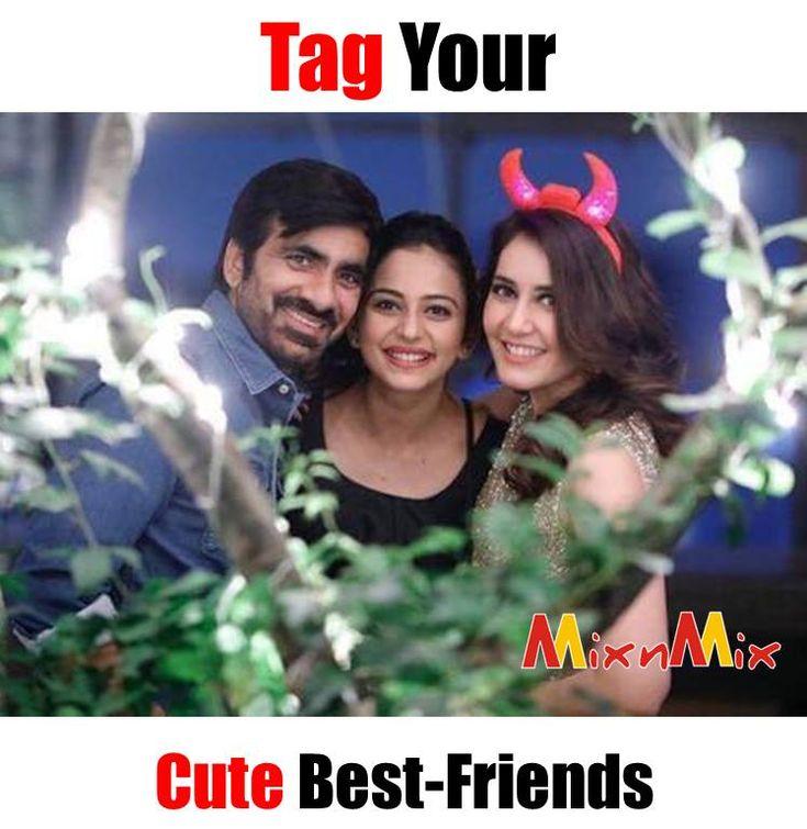 #Best #Friend #rashikanna #raviteja #feeling #celebrating #rakul #rakulpreet #rakulpreetsingh