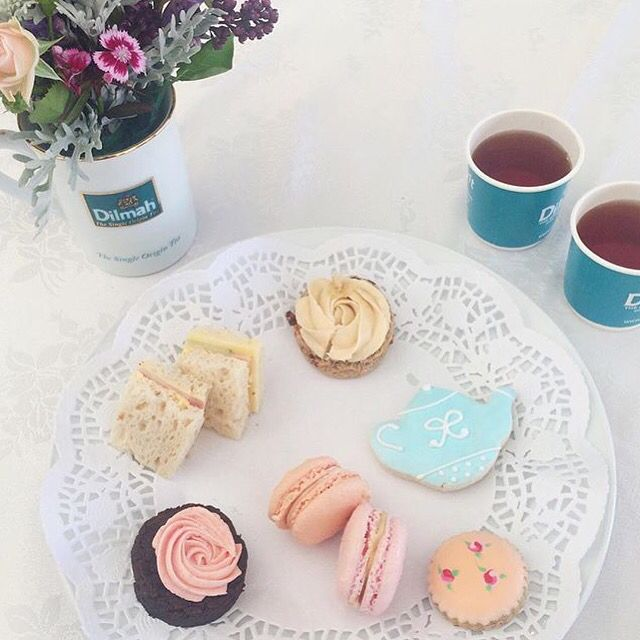 High tea at the Auckland taste festival