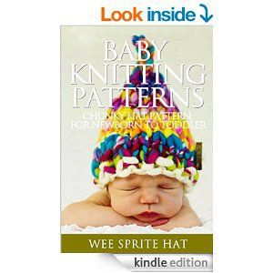 Baby Knitting Patterns: Wee Sprite Chunky Hat Pattern for Newborn to Toddler