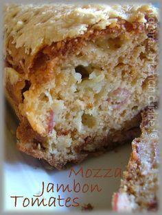 Cake au jambon sec, tomates séchées & mozzarella - Miamm... Maman Cuisine !