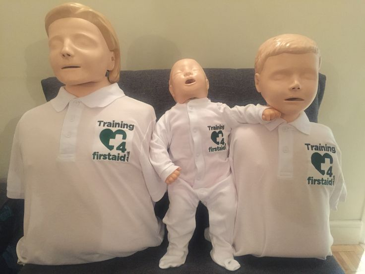 CPR manikins looking good in the new uniforms. #laerdal #training4firstaid.co.uk