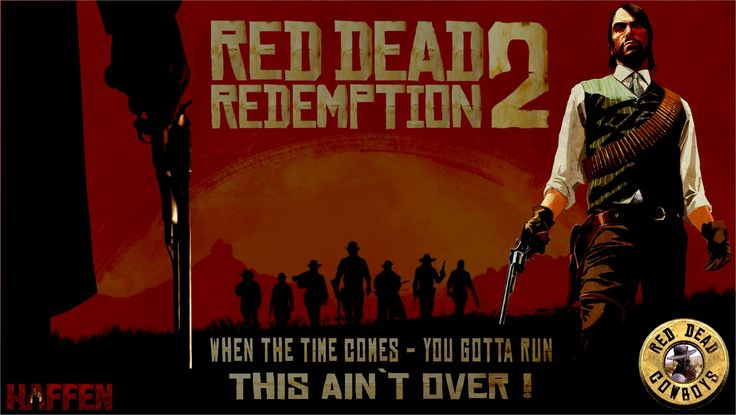 RDR 2 - When the time comes, you gotta run... by Haffen