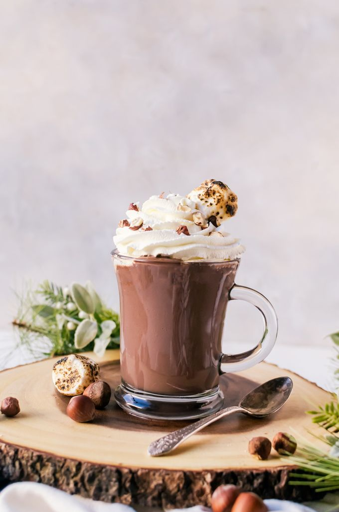 Thick and creamy Nutella hot chocolate is the drink of your dreams. This indulgent hot chocolate is simple to make and will become an instant hit at home.