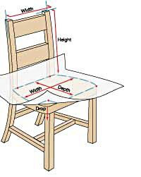 Chair Slip Cover Sewing Pattern