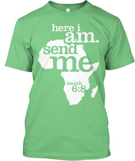 Want to support my trip to Africa?  Buy one of these awesome tshirts.  It serves as a reminder to pray for me while I'm overseas and it also serves as a reminder of something that we're all called to do, the Great Commission and it helps to financially support my trip to Liberia, Africa! <3  teespring.com/ashleyinafrica