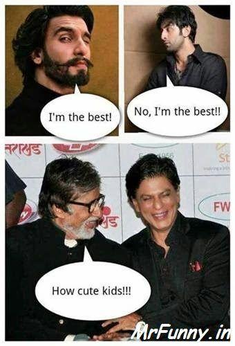 Ranbir Singh and Ranbir Kapoor Funny Pic