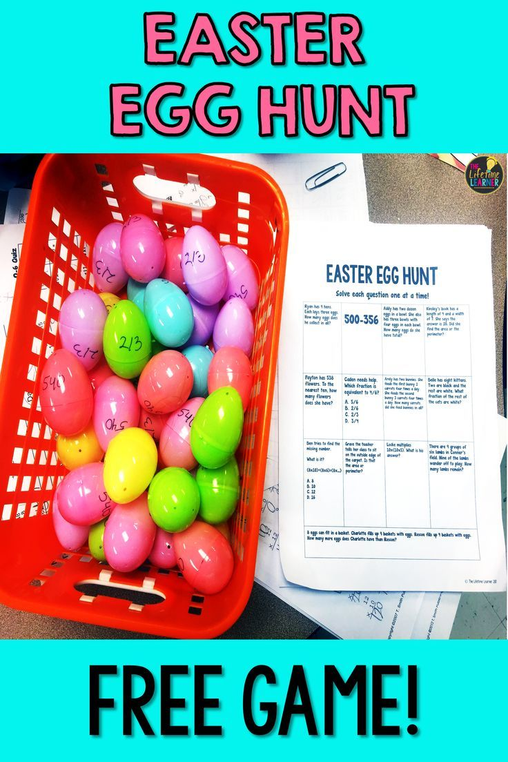 This Easter Egg Hunt Is The Perfect 3rd Grade Activity For The Season This Free Math Egg Hunt Reviews Easter Math Easter Math Activities 3rd Grade Activities [ 1104 x 736 Pixel ]