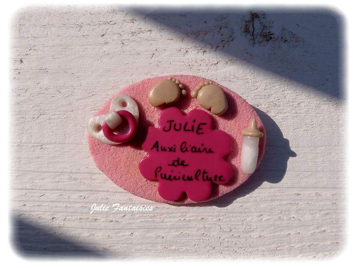 Badge pour Julie !