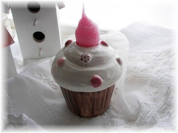Chocolate cupcake nightlight pink MnM top. $22  http://www.etsy.com/listing/64466645/chocolate-cupcake-nightlight-pink-mnm