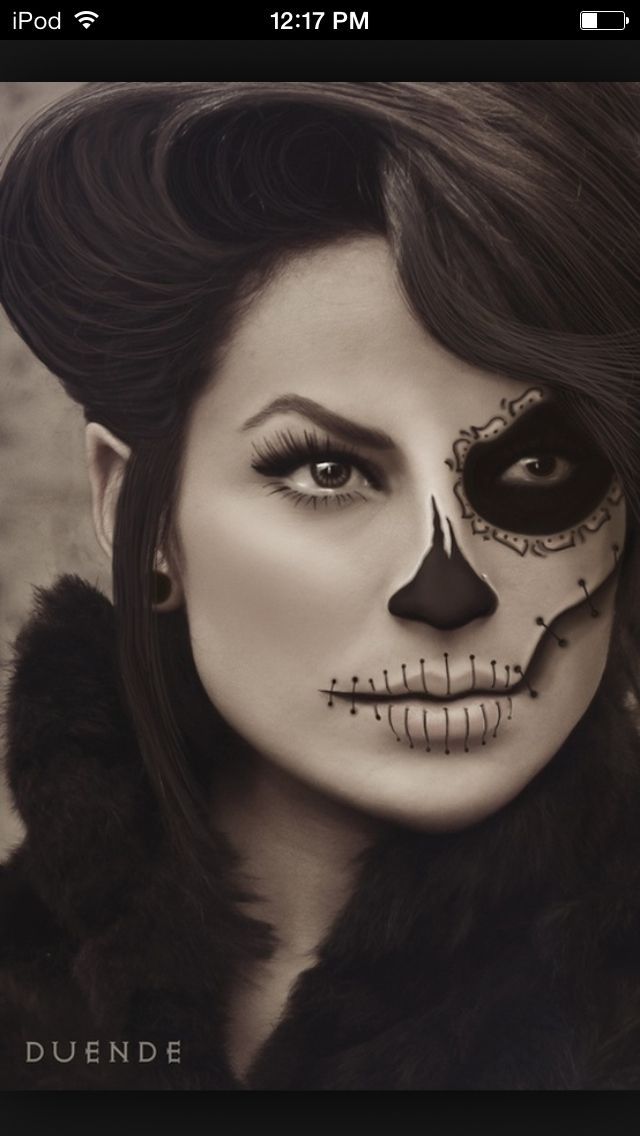22 best Day of the dead images on Pinterest | Halloween makeup ...