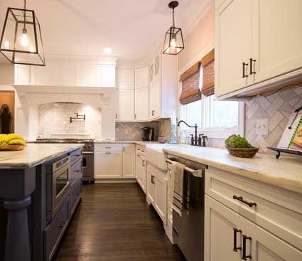 Bristol Door Style In Maple Finished In White 3. BristolMicrowaveKitchen  Cabinets