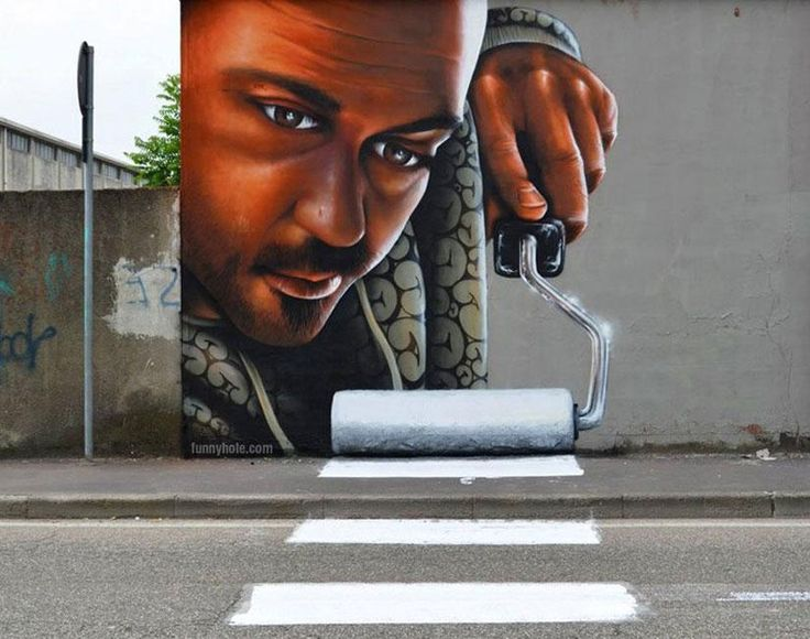 Asombroso mural de arte callejero en Milan | La Reserva