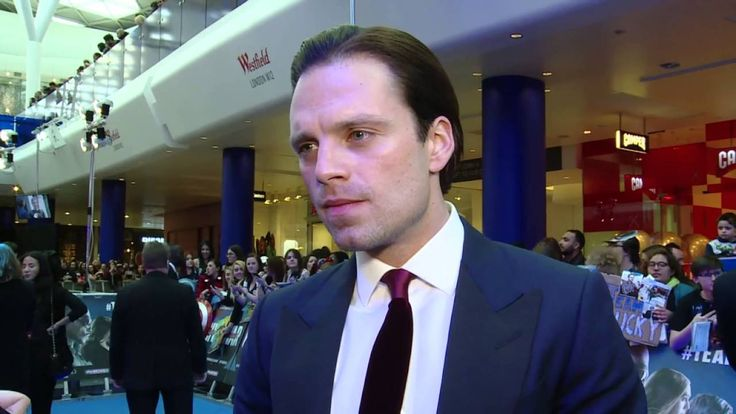 """""""The tighter the better."""" and then that sexy sneer.  Ugnh!  God damn!  STOP IT, STAN!  I'M A MARRIED WOMAN!  --Sebastian Stan Interview Red Carpet London - YouTube"""