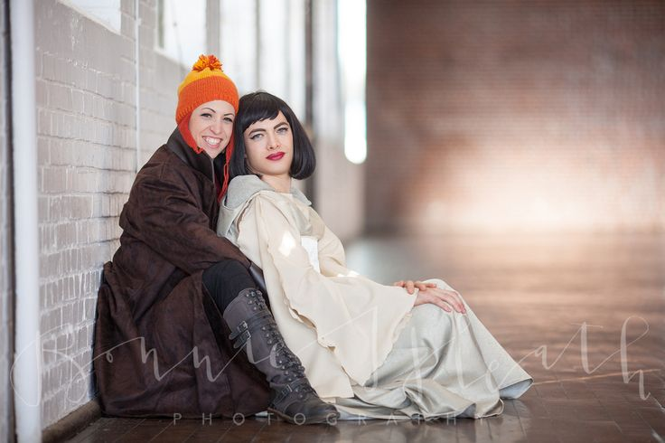 Gender-bent Firefly themed engagement shoot by Bonnie Heath. Costumes by Lorigami.com #firefly #cosplay #genderbent #serenity #inara #mal