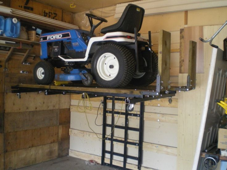 Garage Evolution Use To Store Pressure Washers Up Off