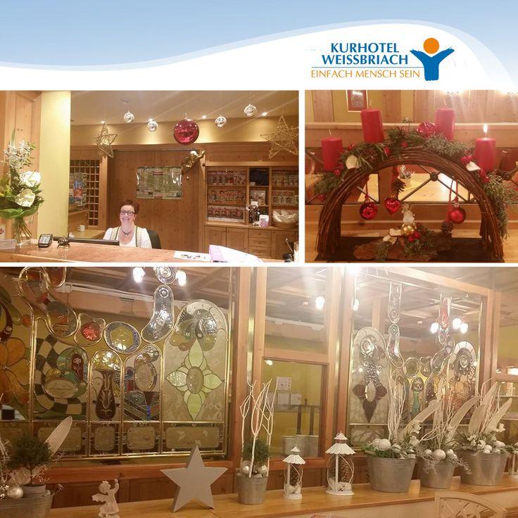 Lassen Sie sich von der bezaubernden Weihnachtsdeko des Kurhotels Weissbriach (DR. DR. WAGNER GESUNDHEIT & PFLEGE) inspirieren.
