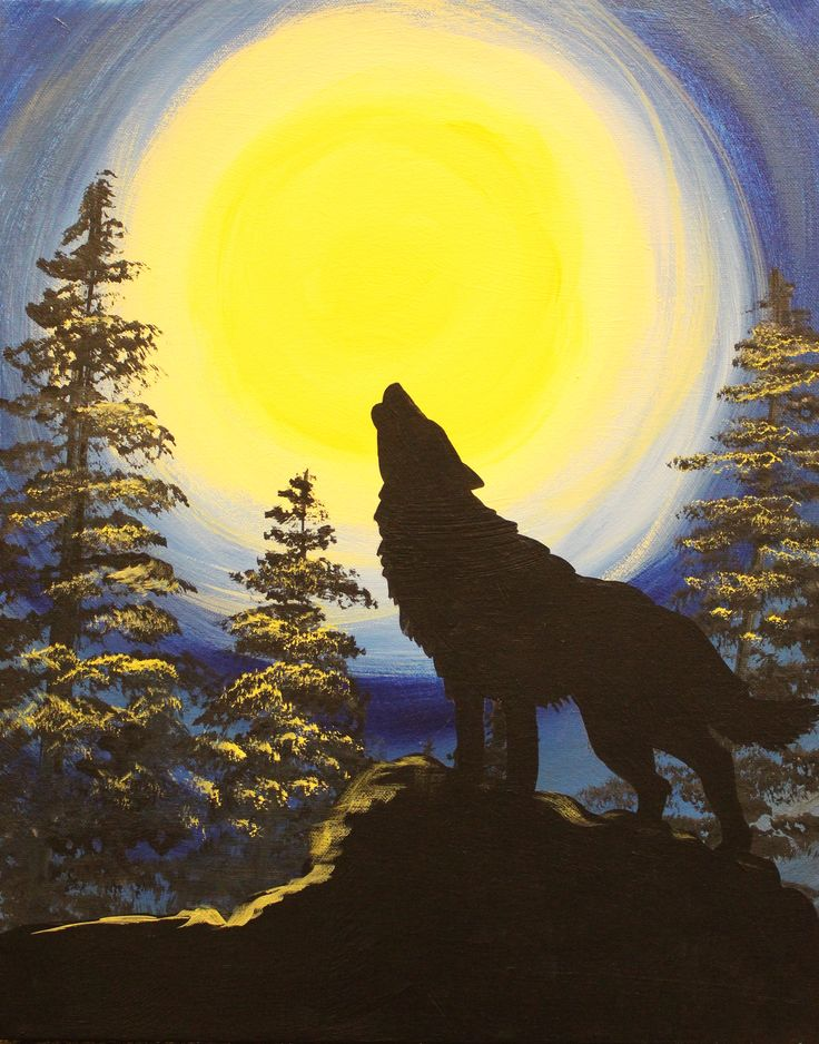 Wolf and Moon                                                                                                                                                                                 More