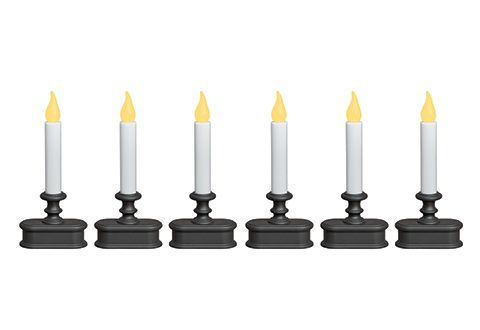 Wireless Sensor LED Window Candles (Set of 6) On SALE!! WAS $49.99 NOW $39.99