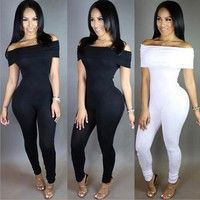 Features:100% Brand New Item Type:Jumpsuits & Rompers Gender:Women Color:As Picture Length:Full Leng