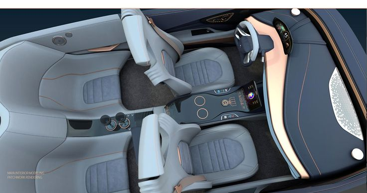 ds premonition on behance car interior pinterest. Black Bedroom Furniture Sets. Home Design Ideas