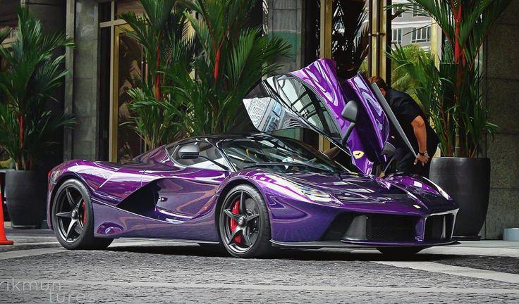 Purple LaFerrari Belongs to Crown Prince of Johor