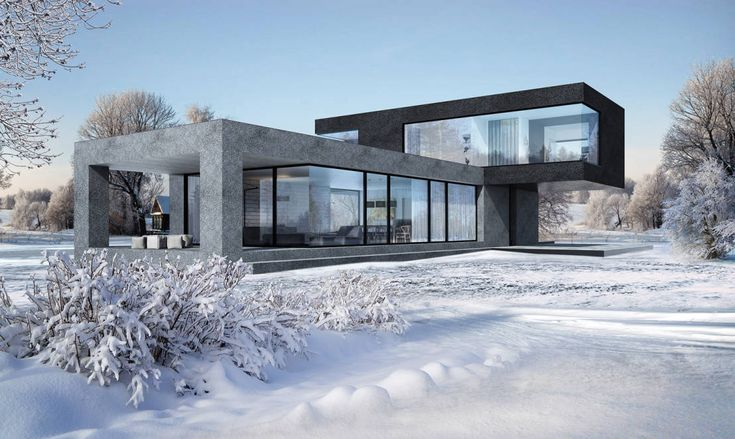 Hammer House : Casas minimalistas de Aleksandr Zhydkov architect