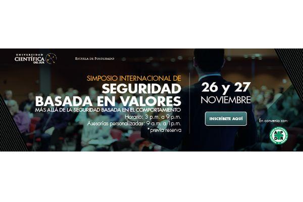 Simposio Internacional: Seguridad Basada en Valores
