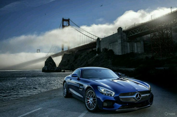 Scarica Sfondi Mercedes Amg Gt S Supercar  Auto Golden Gate Bridge Mercedes