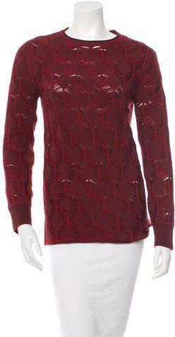 Thakoon Wool Pattern Sweater