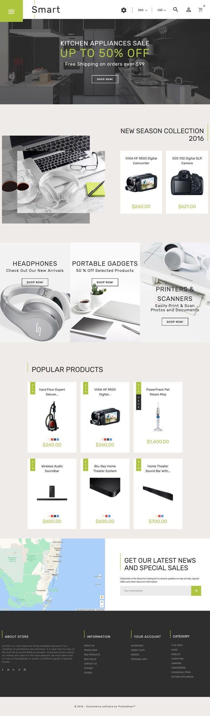 Smart - Gadgets & Electronics PrestaShop Theme - http://www.templatemonster.com/prestashop-themes/smart-gadgets-electronics-prestashop-theme-61360.html