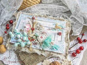 Рождественская открытка от Алёны Шевченко