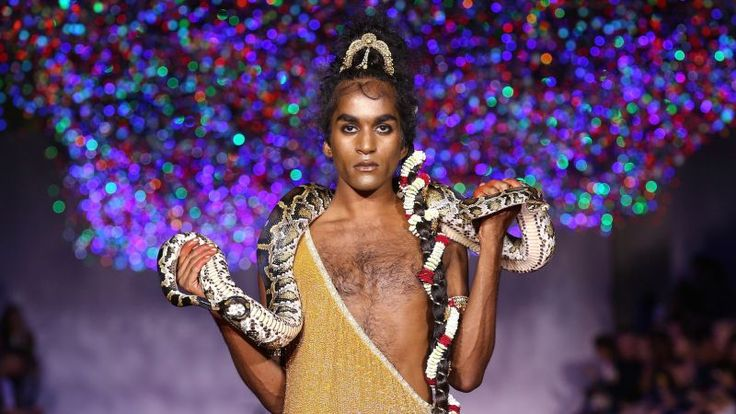 Ashish Gupta, the Delhi-born British designer whose taste for sequins has defined both his runways and the ever-increasing sparkliness of pop stars and style mavens, is perpetually one of the most interesting runways at London Fashion Week.