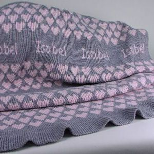 17 Best images about Knitted baby blanket on Pinterest ...