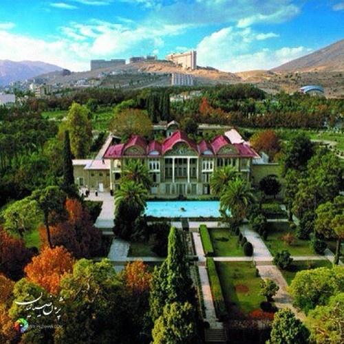 Bagh-e Eram or Garden of Paradise at Shiraz, Iran.