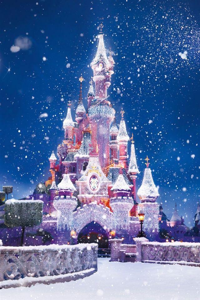 ディズニー城、雪飛行 iPho…   iPhone5 Wallpaper Gallery